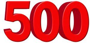 500 Ilmaispyöräytystä