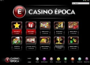 Minimum deposits at Casino Época