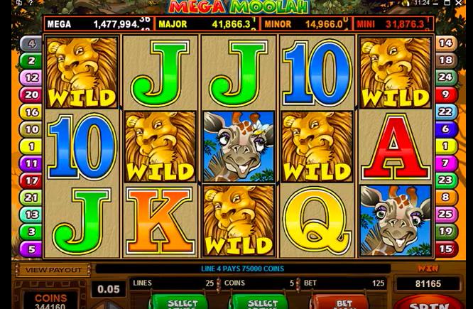 Microgaming online casino slots