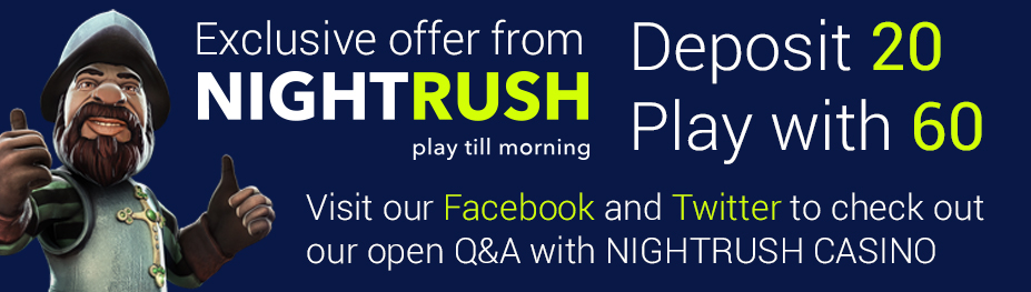 NightRush Casino Offer
