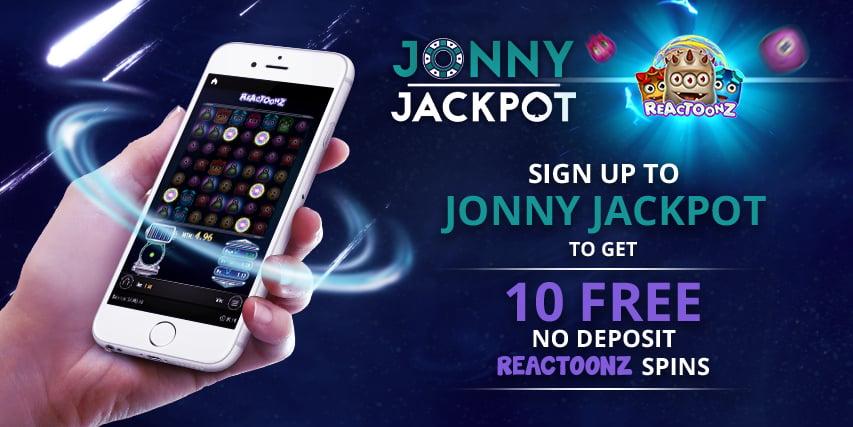 How to Claim Jonny Jackpot Reactoonz No Deposit Offer