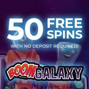 Boom Galaxy – 50 Free Spins at Jackpot City Casino