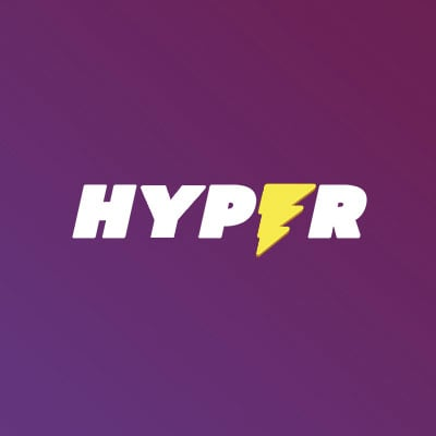 Hyper Casino Purple logo