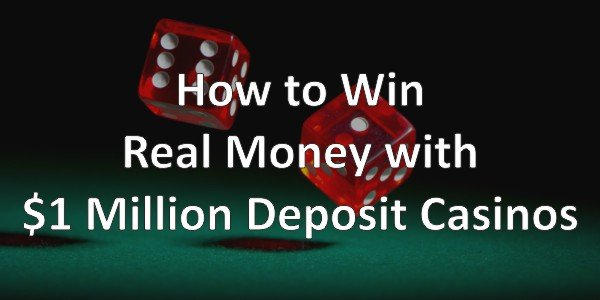 How To Win Real Money with $1 Minimum Deposit Casinos