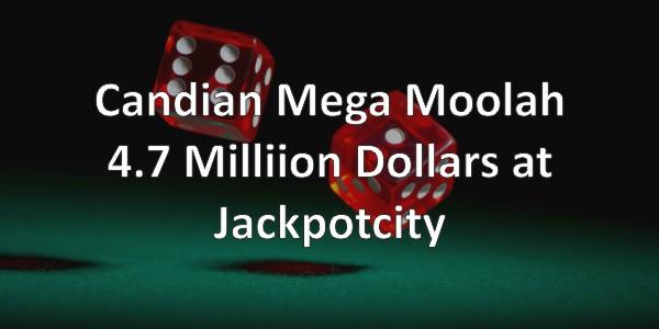 MegaMoolah Jackpot Winner!