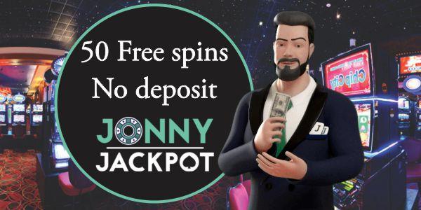 50 free Spins No Deposit at Jonny Jackpot