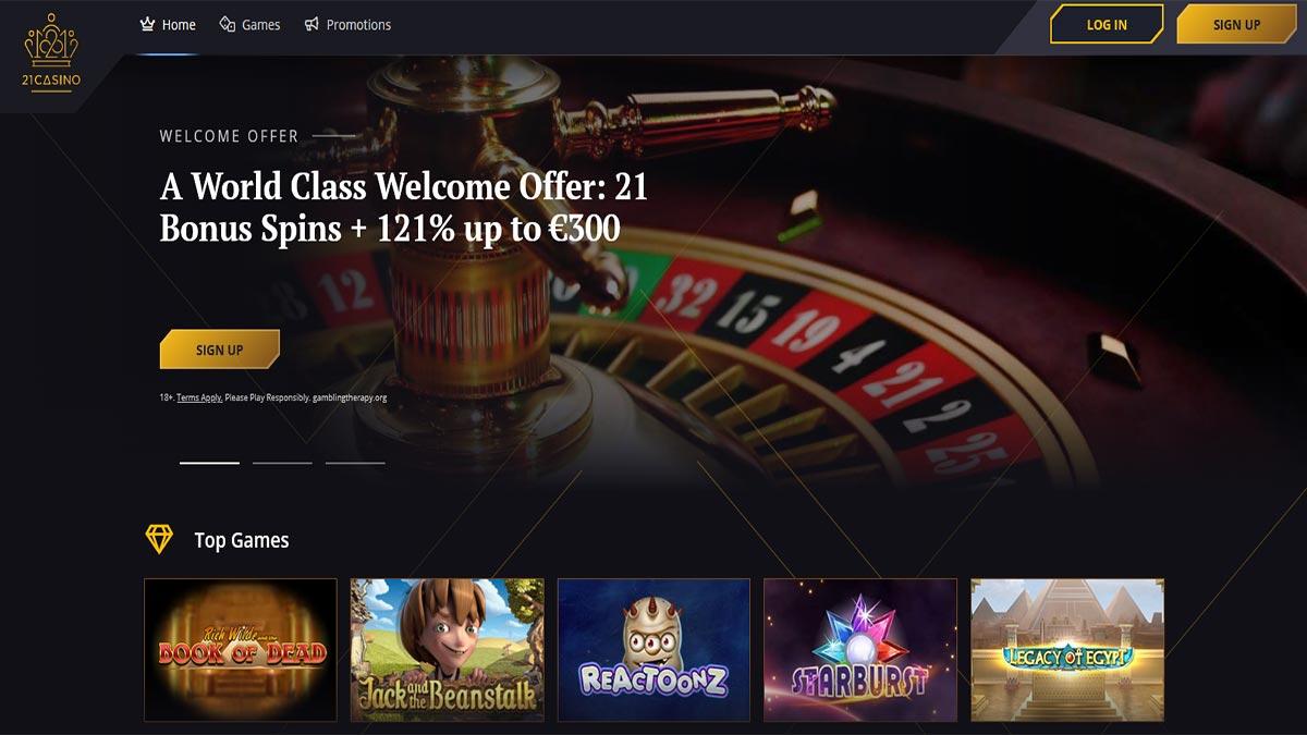 21 Casino Screenshot