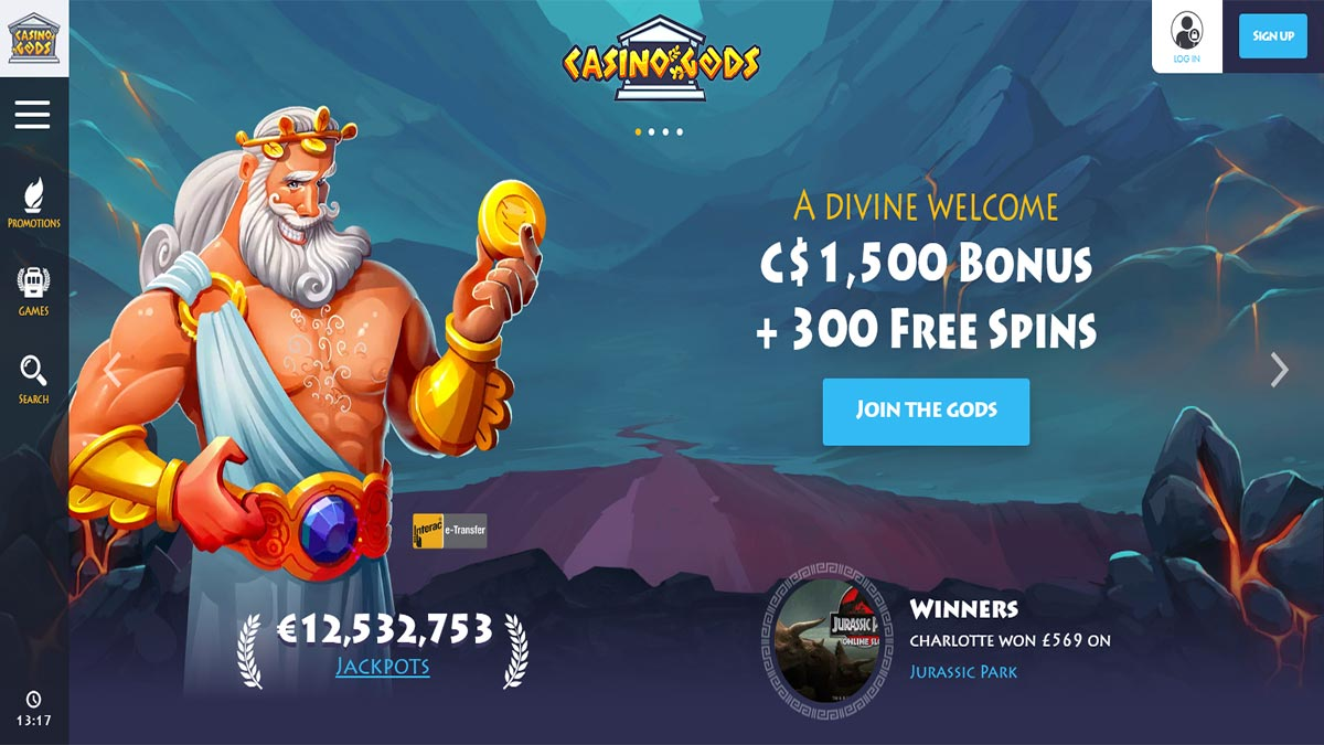 Casino Gods Screenshot