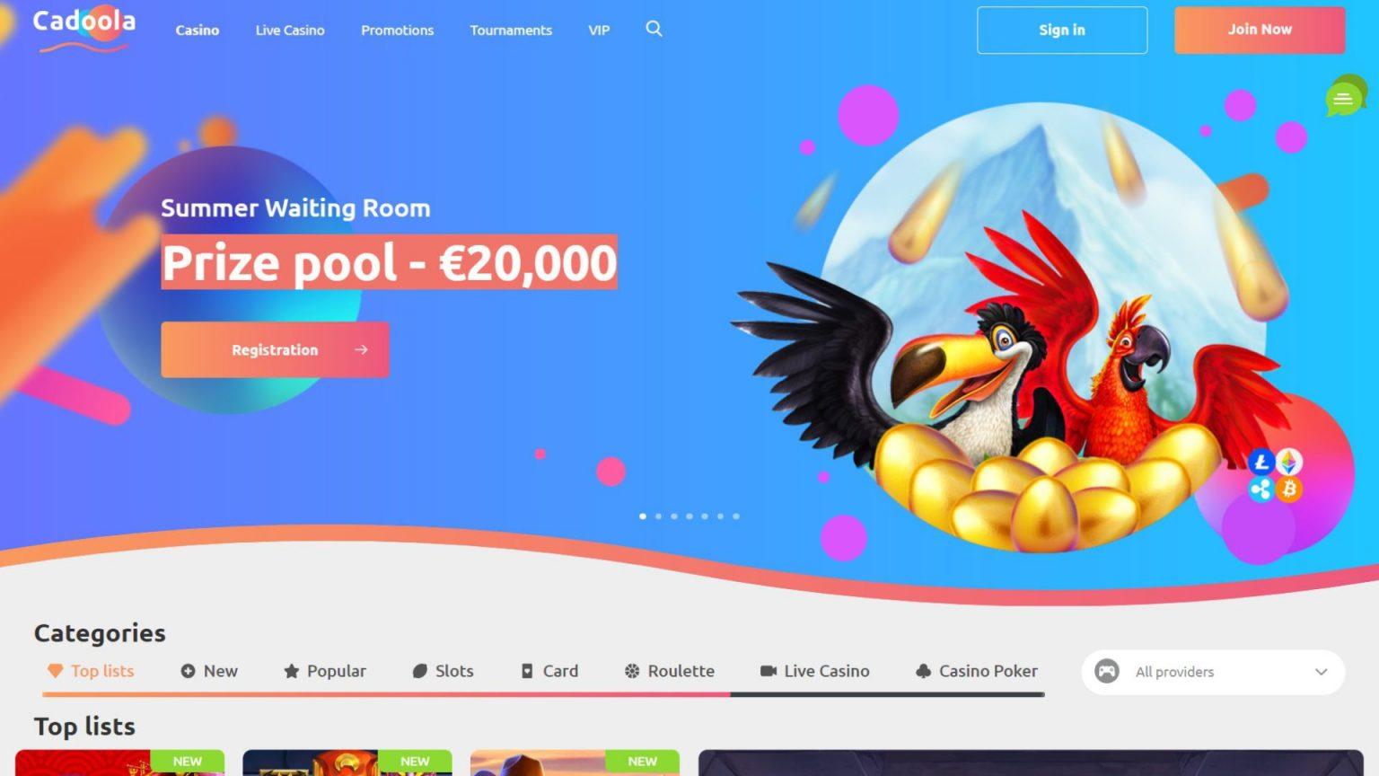 Cadoola Casino Bonus Review