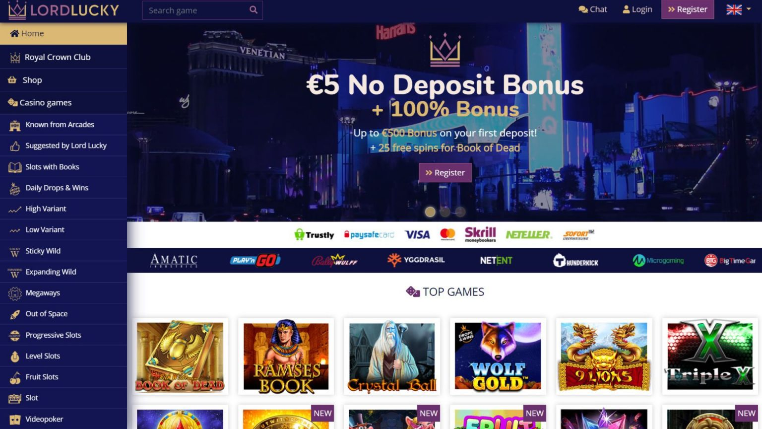 Lord of the Spins Casino Review and Canada Bonus