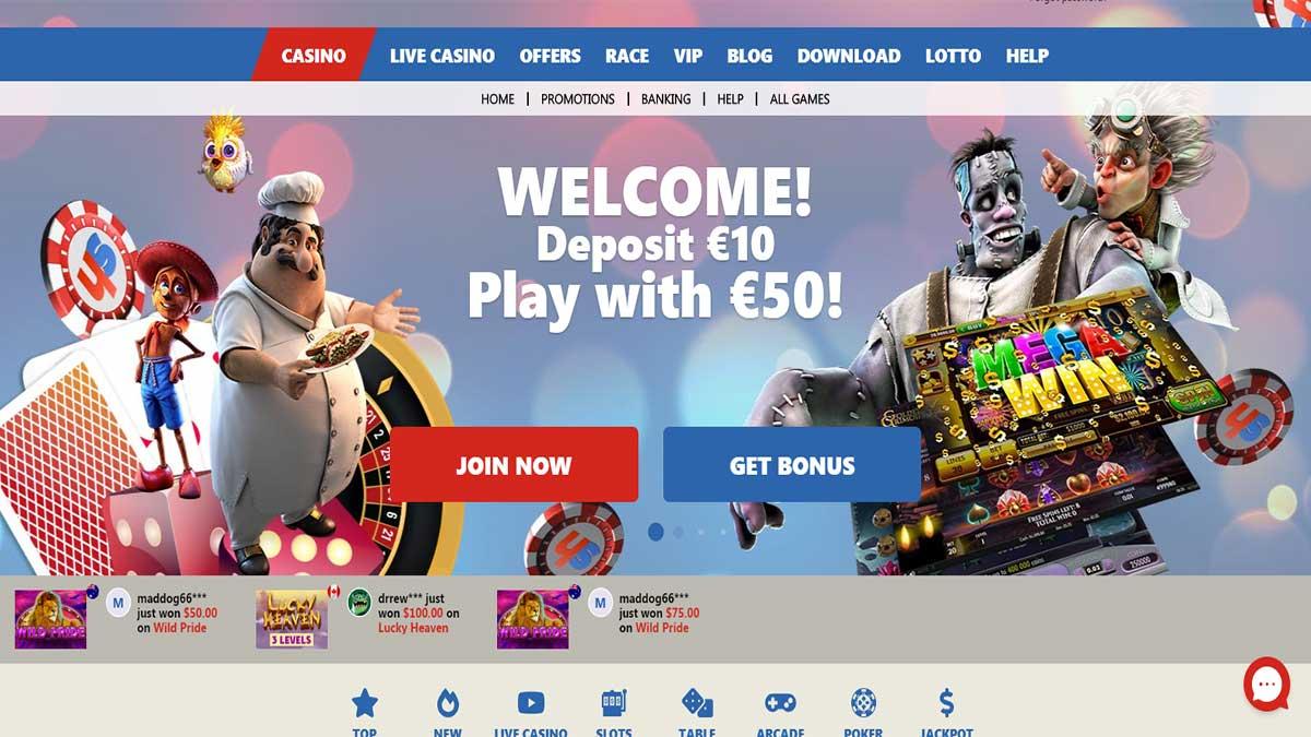 Slotohit Casino Screenshot