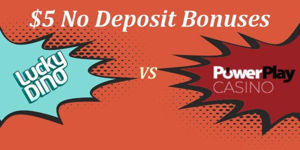 5 No Deposit Bonus Who Does It Best Get A No Deposit 5 Bonus