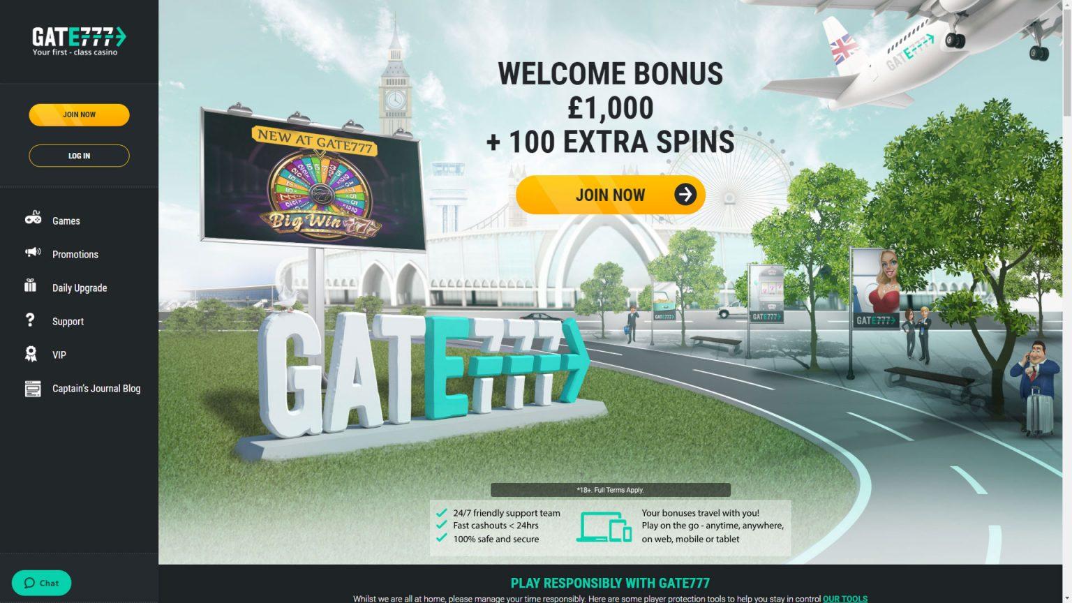 Gate 777 casino no deposit