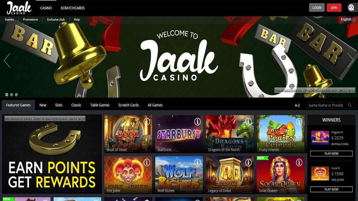 Jaak Casino Screenshot