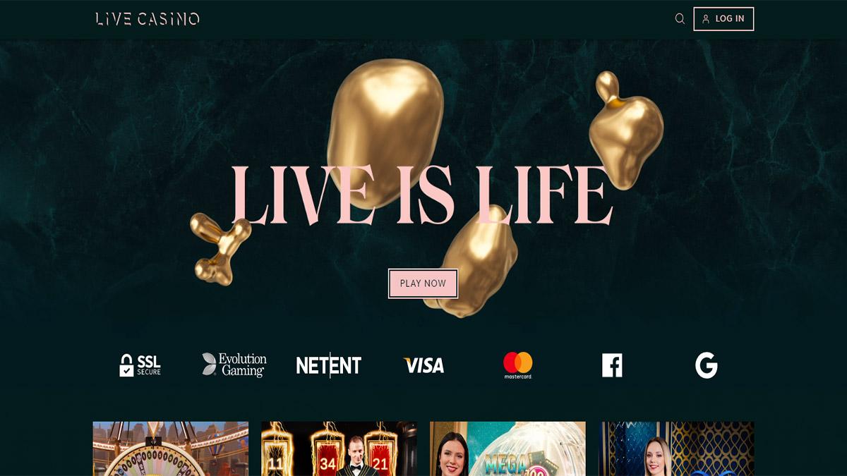 Live Casino Screenshot