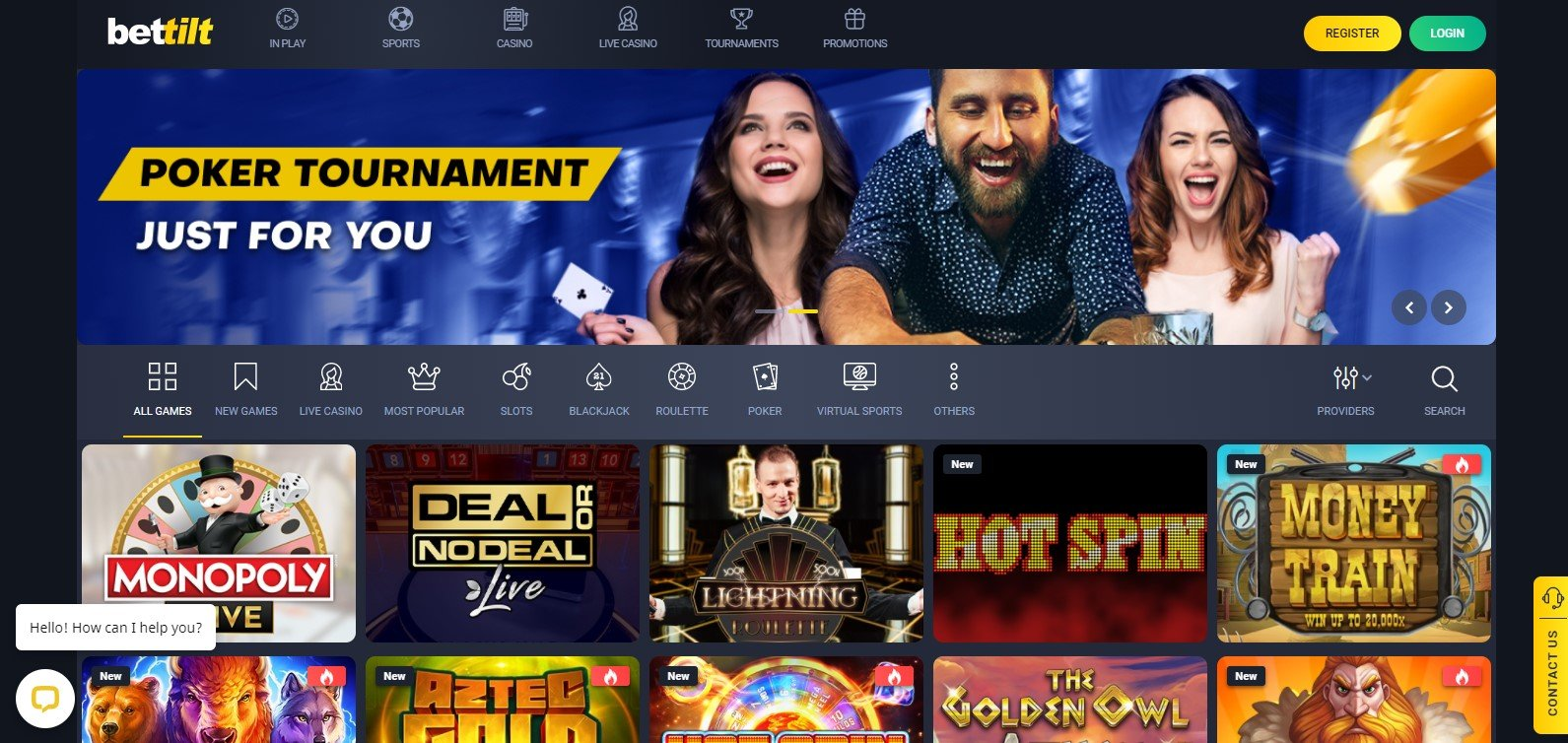 Bettilt Online Casino Screenshot
