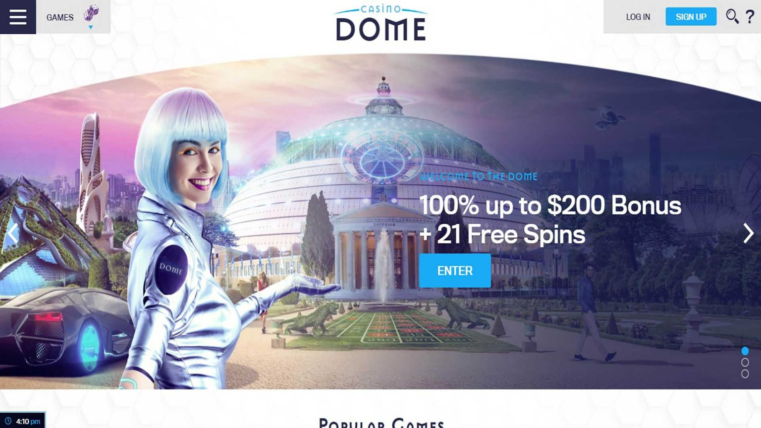Casino Dome Screenshot