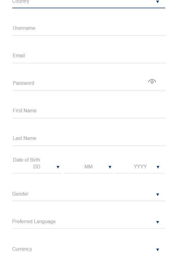 Lucky Nugget Registration screenshot