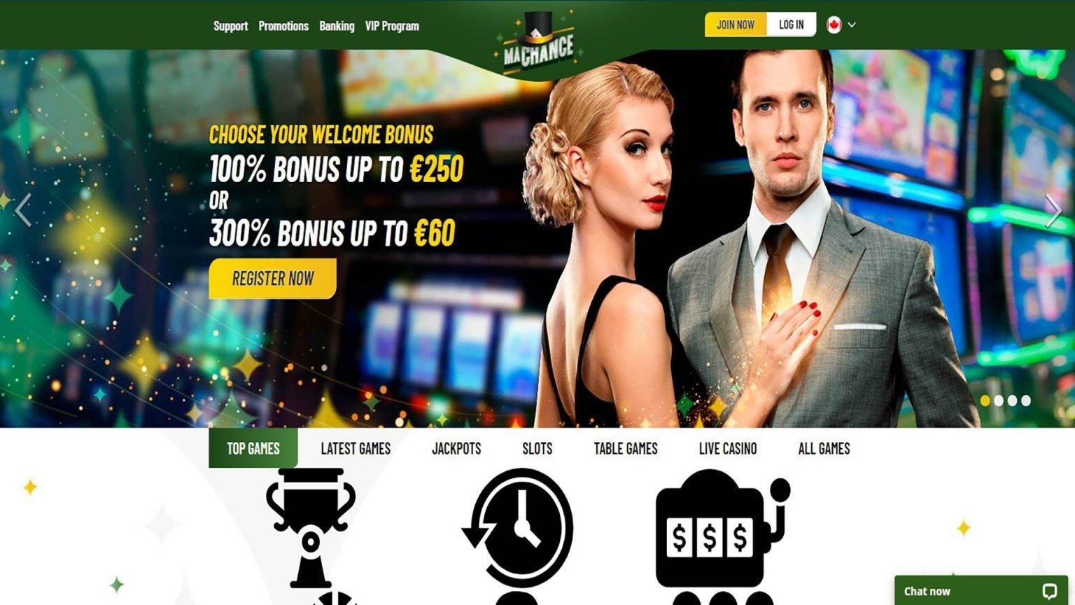 Ma Chance Casino Screenshot