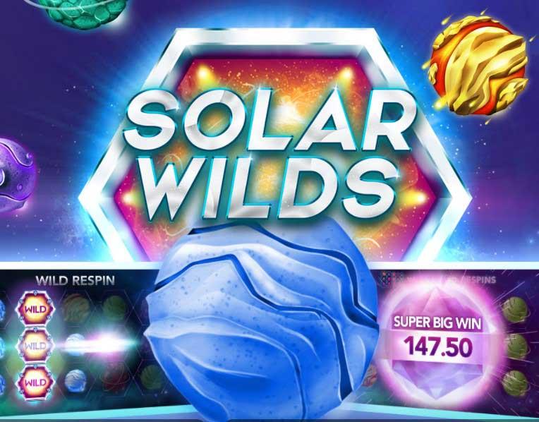 105 Free Spins on Solar Wilds